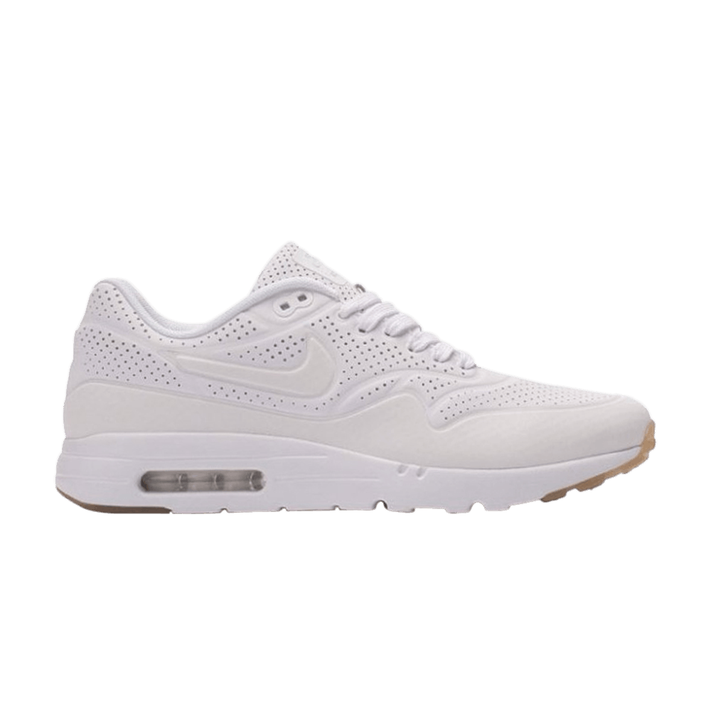 fashion style elegant shoes new product Air Max 1 Ultra Moire 'White' - Nike - 705297 111 | GOAT