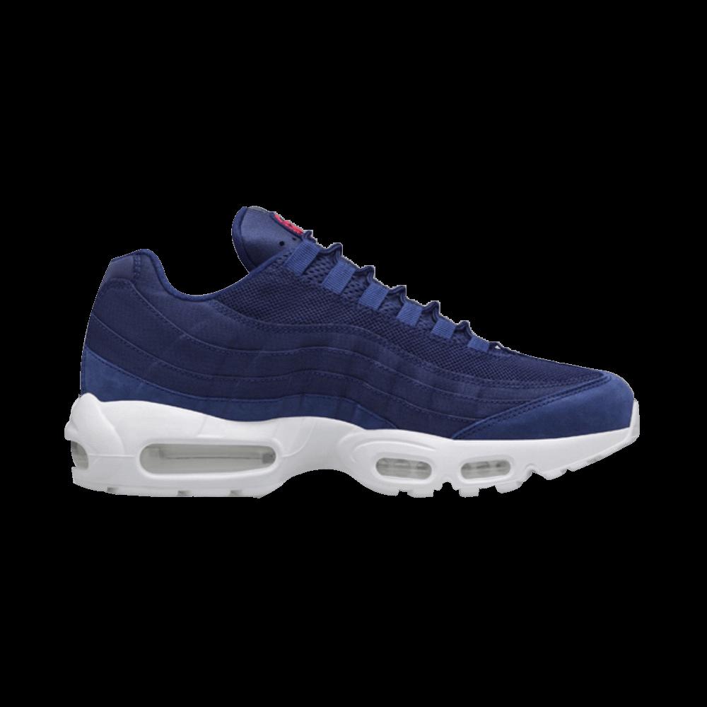 b62866741411 Stussy x Air Max 95  Loyal Blue  - Nike - 834668 441