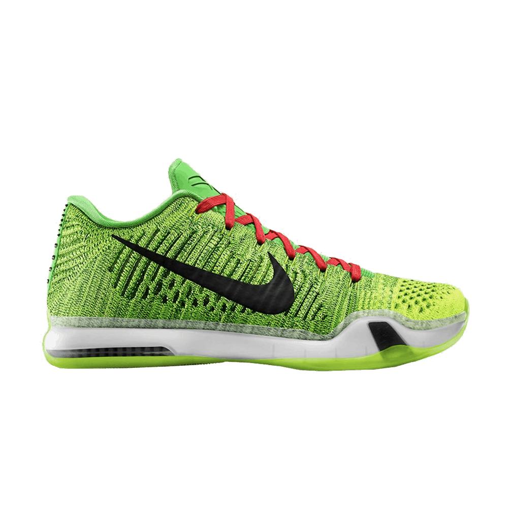 296ae31b07b Kobe 10 Elite Low iD  Grinch  - Nike - 802817 901