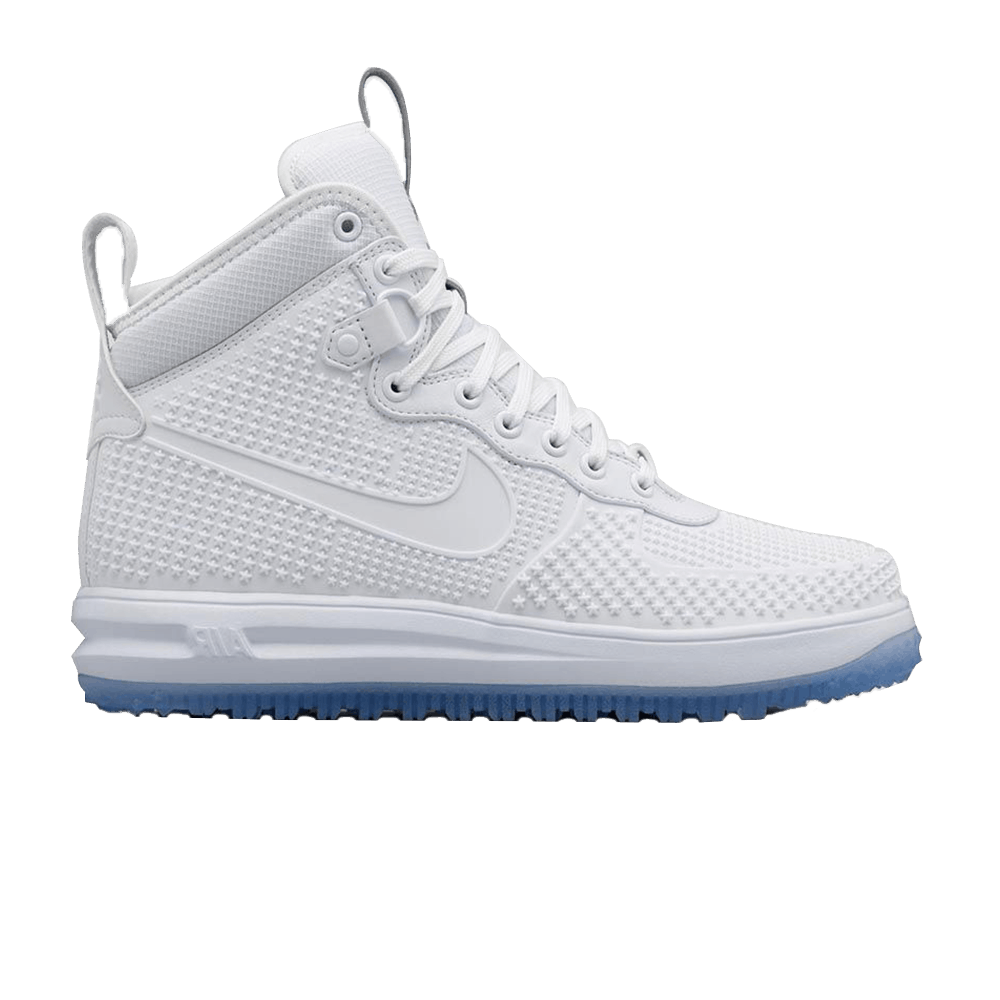 save off f691b eb844 Lunar Force 1 Duckboot  All White  - Nike - 806402 100   GOAT