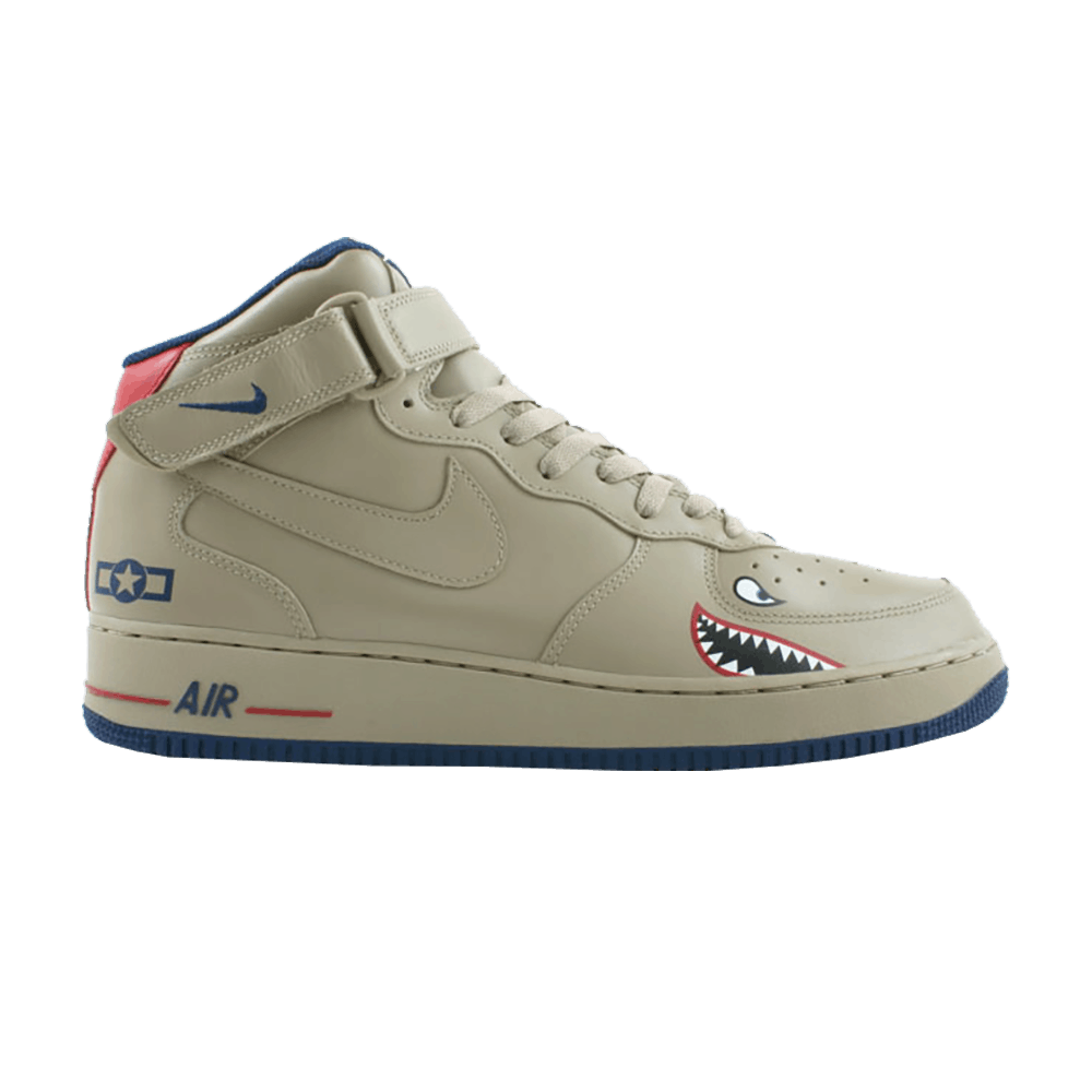 new product 93fda 6fb52 Air Force 1 Mid 'Tuskegee' - Nike - 306352 221 | GOAT