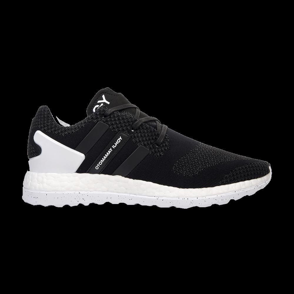 ab8d589cc76c Y-3 PureBoost ZG Knit  Black  - adidas - AQ5729