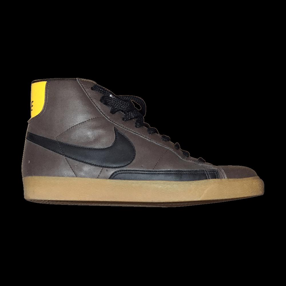 NYX Blazer High  Cinder  - Nike - 344609 201  ffee199f89f5