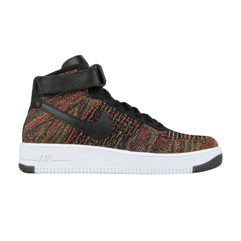 low priced 4dd78 fead8 Air Force 1 Ultra Flyknit Mid  Multicolor  - Nike - 817420 002   GOAT
