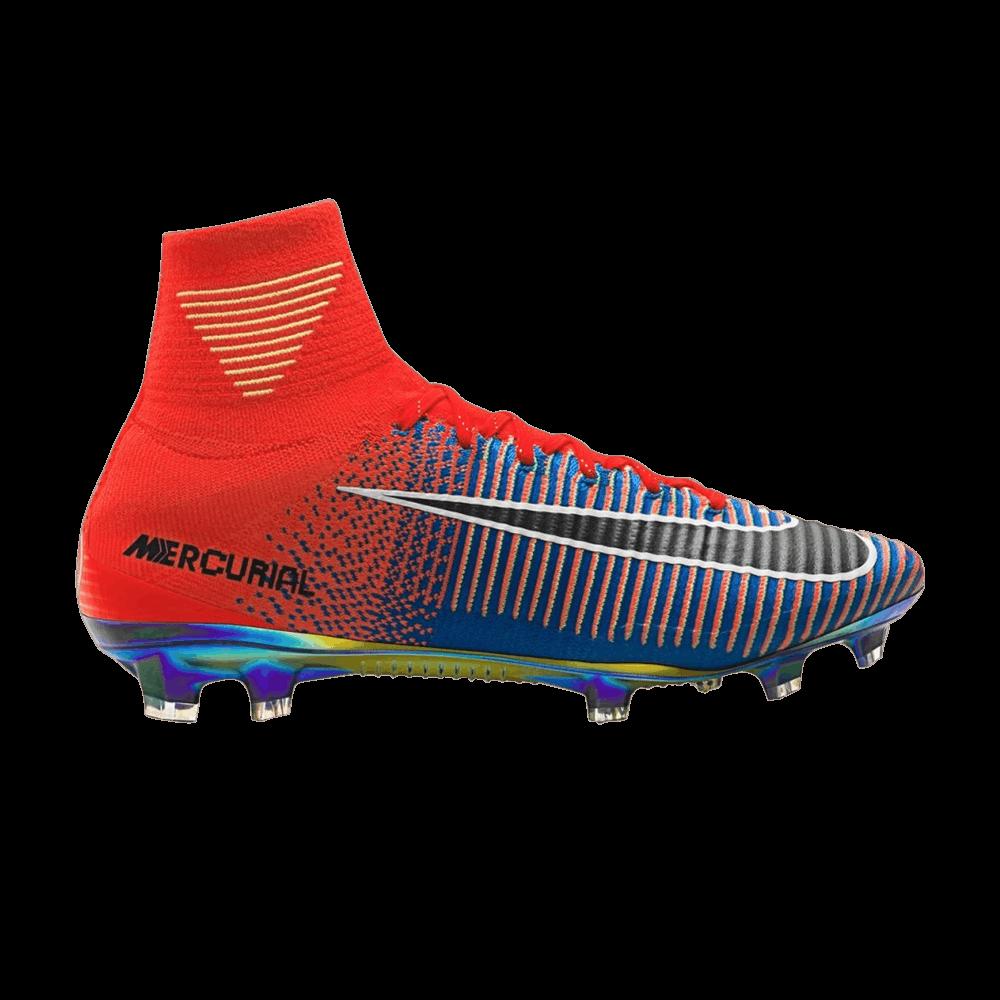 48f33f1f6c7 EA Sports x Mercurial Superfly  Total Crimson Photo Blue  - Nike - 852512  804