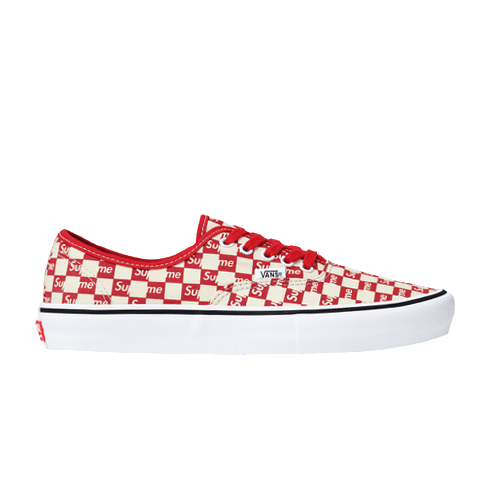 9f96823219 Supreme x Authentic Pro  Checkered Red  - Vans - VN000Q0DJLY