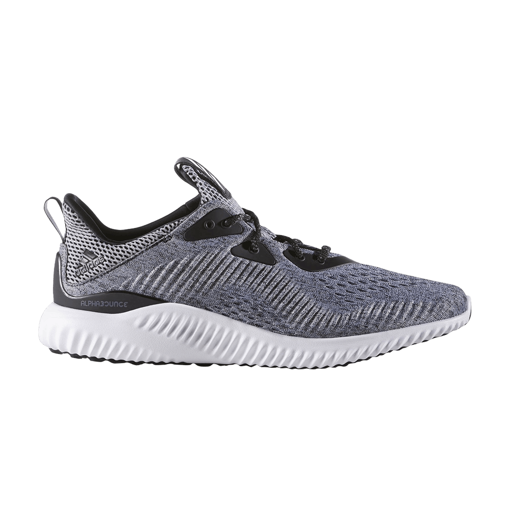 b4cf68ffef35f AlphaBounce Engineered Mesh  Core Black  - adidas - BB9043