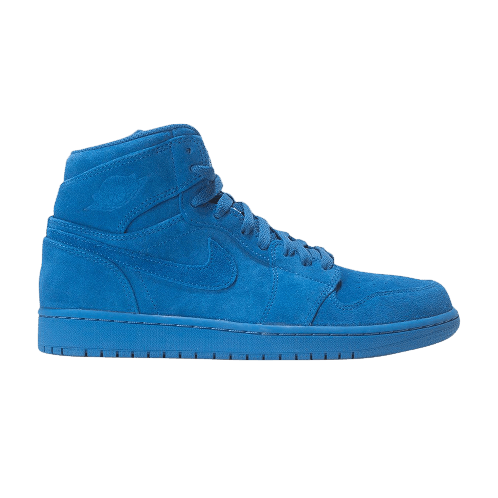 91f37f6a083dba Air Jordan 1 Retro High  Blue Suede  - Air Jordan - 332550 404