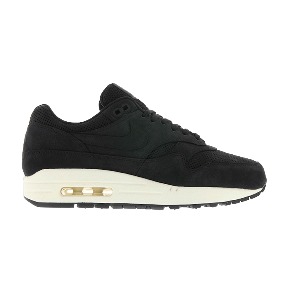 hot sale online 7bb2c 3d449 NikeLab Wmns Air Max 1 Pinnacle  Black  - Nike - 839608 005   GOAT