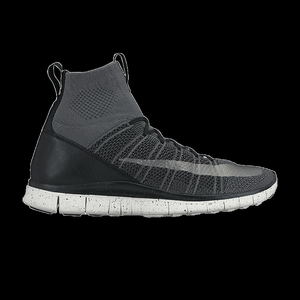 a6ad43499 Free Flyknit Mercurial  Black  - Nike - 805554 004