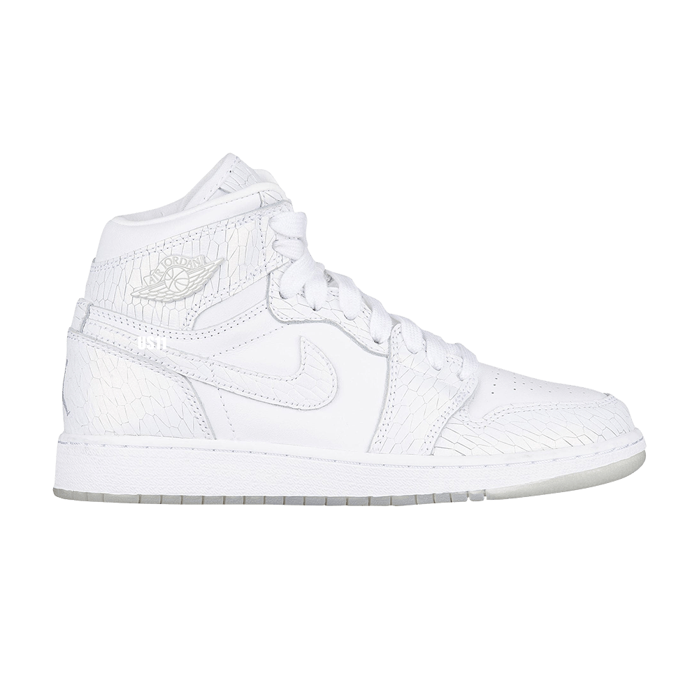4d47ea9ca941 Air Jordan 1 Retro High Premium GS  Frost White  - Air Jordan - 832596 100
