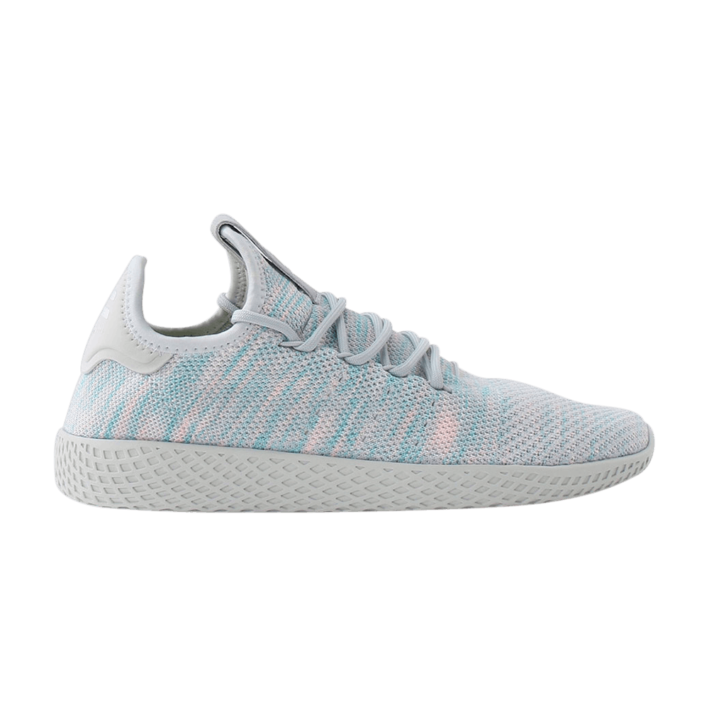 99a3c7441c03b Pharrell x Tennis Hu  Blue Pink  - adidas - BY2671