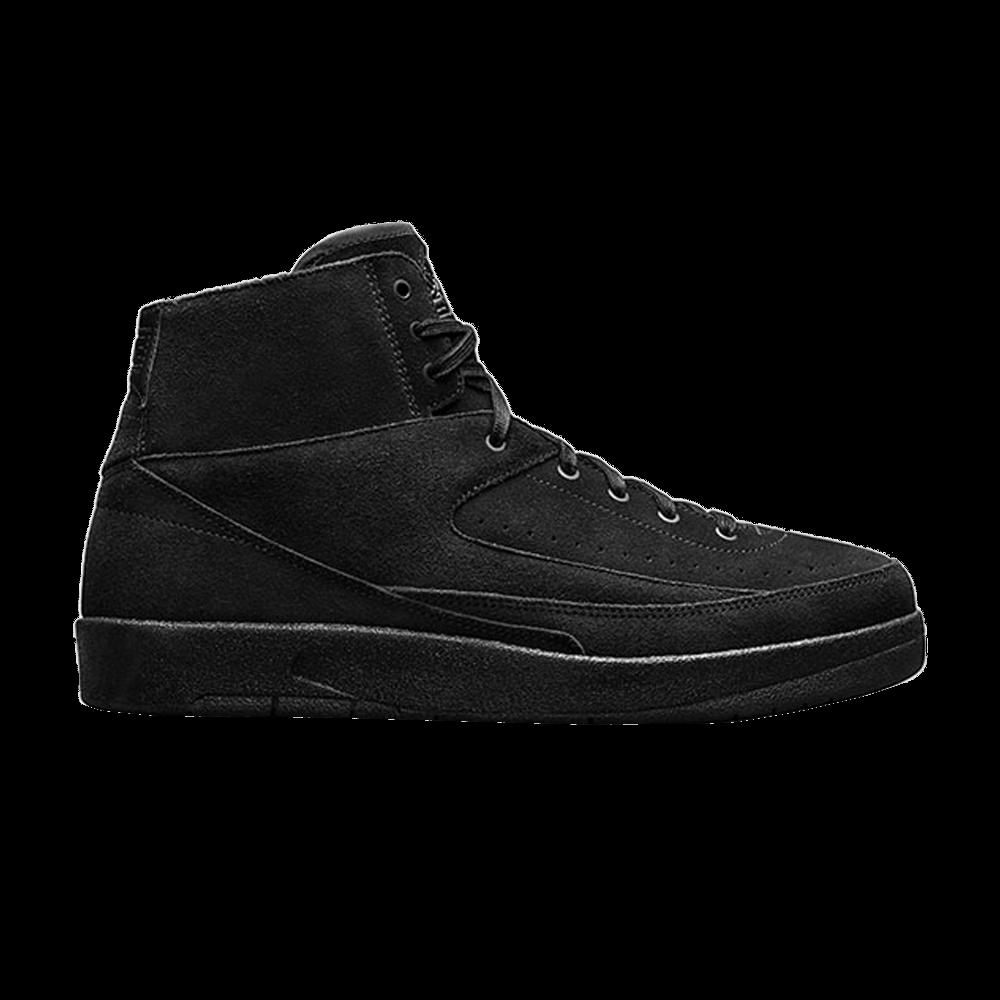 huge discount 56e26 0ed0d Air Jordan 2 Retro Deconstructed  Triple Black  - Air Jordan - 897521 010    GOAT
