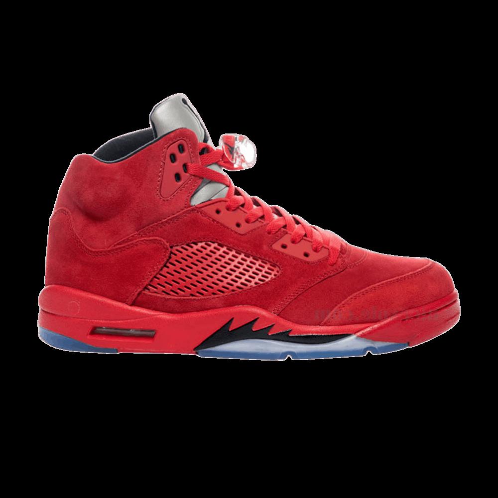 outlet store c3d5d 0afcf Air Jordan 5 Retro BG  Red Suede  - Air Jordan - 440888 602   GOAT