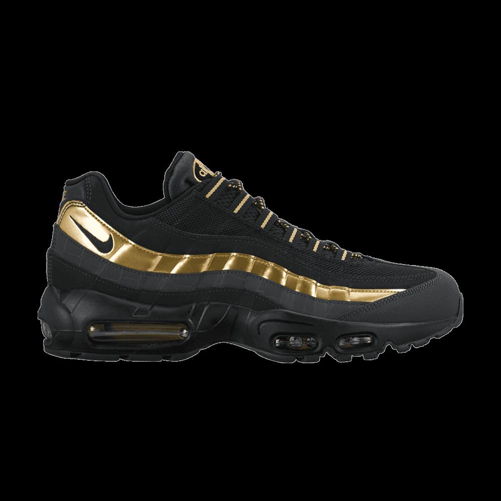 Air Max 95 Premium  Metallic Gold  - Nike - 538416 007  1e3edaf04d
