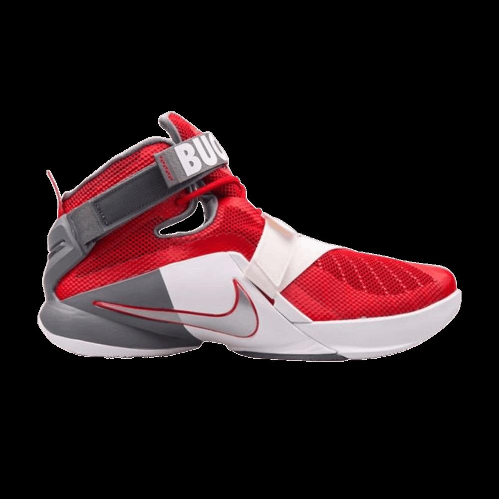 0dad47381ec5 LeBron Soldier 9 Premium  Ohio State Buckeyes  - Nike - 749490 601 ...