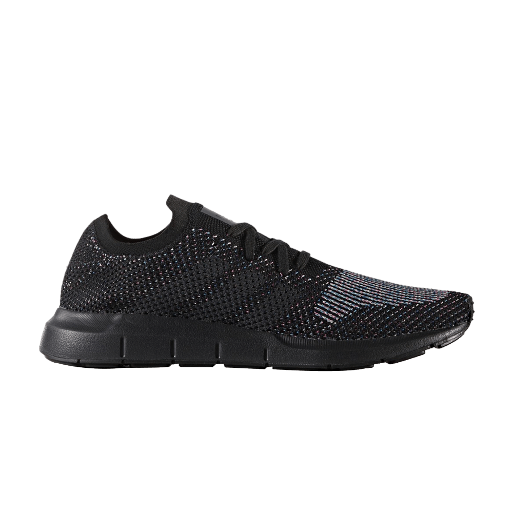 a908a6ff8 Swift Run Primeknit  Black Multicolor  - adidas - CG4127