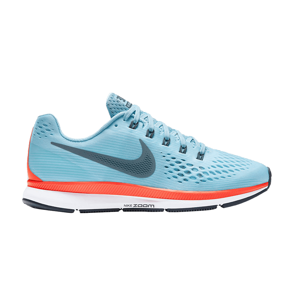 dc8d53ec3b3ee Air Zoom Pegasus 34  Ice Blue  - Nike - 880555 404