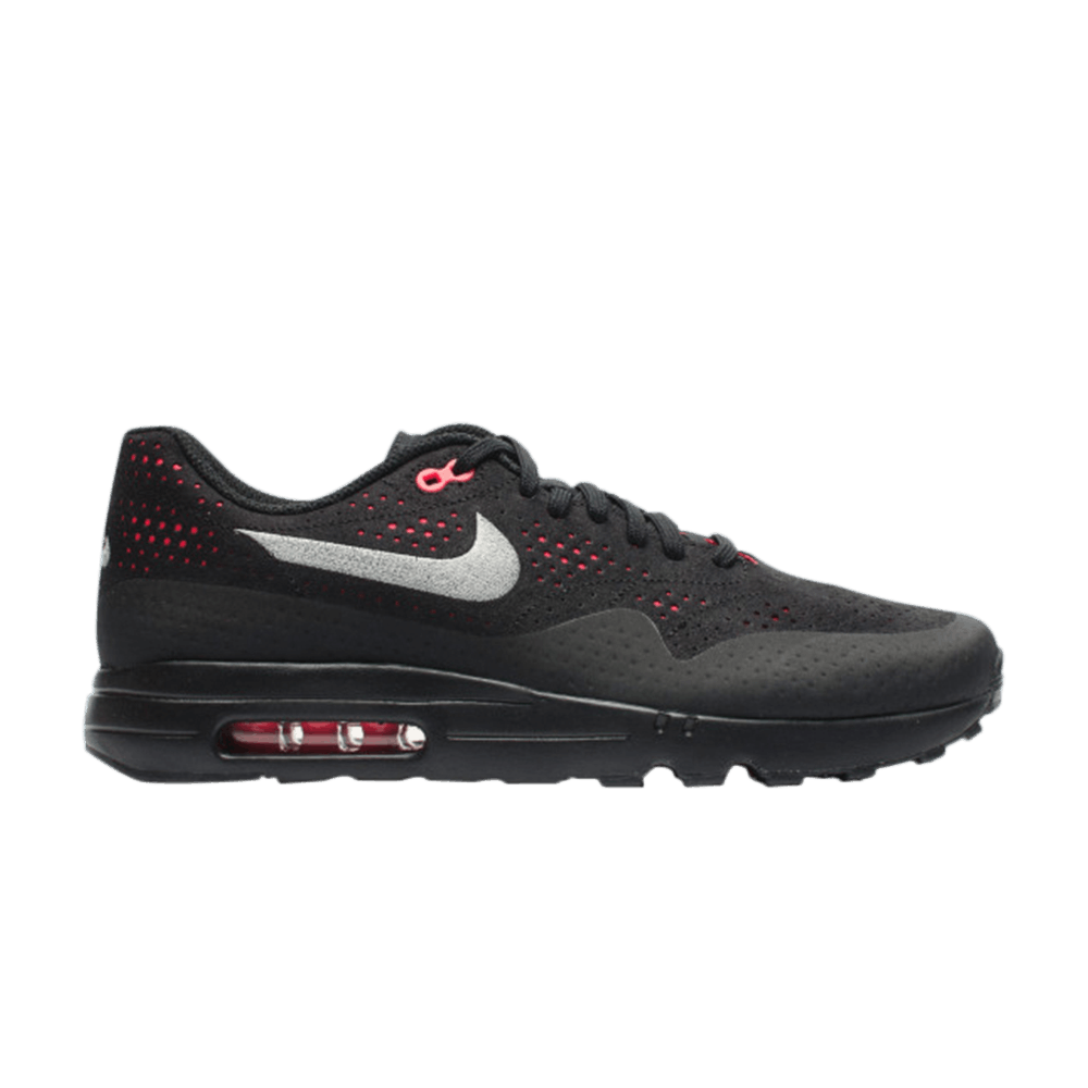 Air Max 1 Ultra 2.0 Moire 'Black Solar Red' Nike 918189