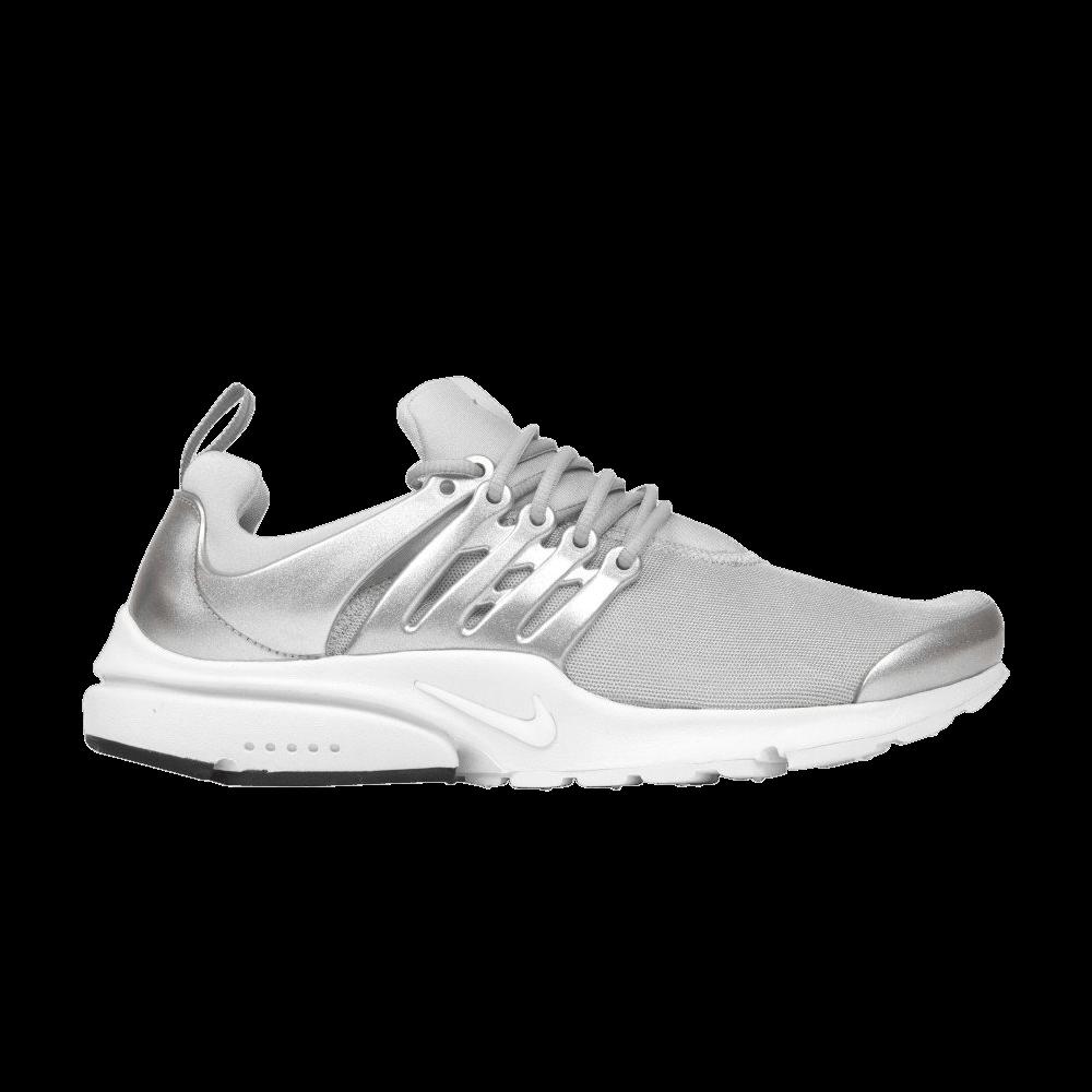 brand new 36e4b 3bbe9 Air Presto Premium  Metallic Silver  - Nike - 848141 001   GOAT