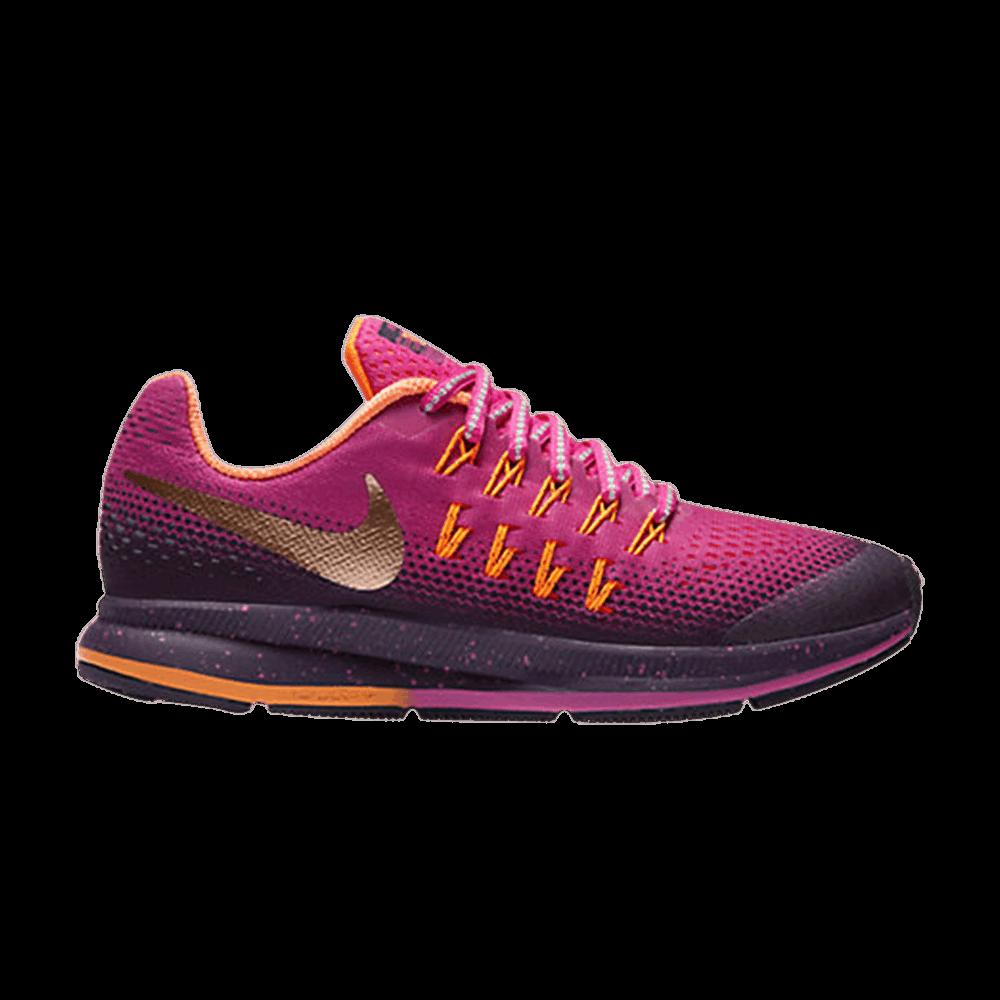 6c2dba622b37 Air Zoom Pegasus 33 Shield GS - Nike - 859624 600