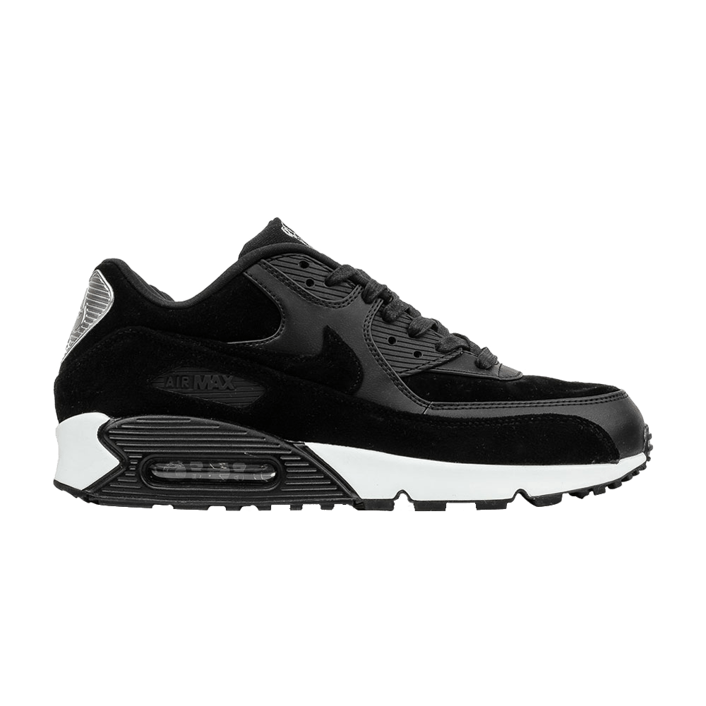 Great Nike Air Max 90 Rebel Skulls Leather And Suede