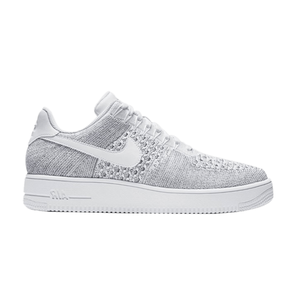 new concept ce1d8 21dea Air Force 1 Ultra Flyknit Low  Cool Grey  - Nike - 817419 006   GOAT