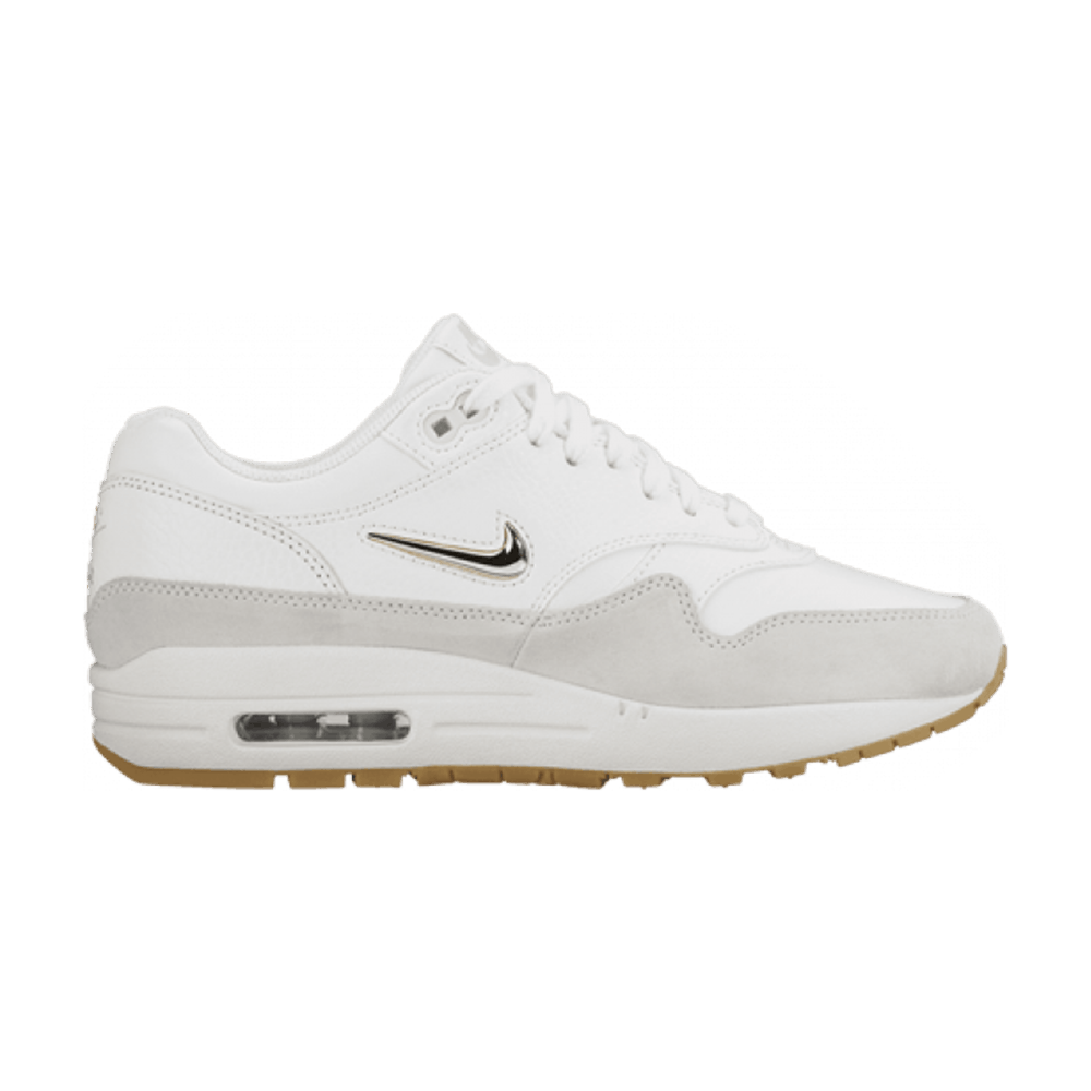 new concept 47a16 8da49 Wmns Air Max 1 Premium SC Jewel  Summit White  - Nike - AA0512 100   GOAT