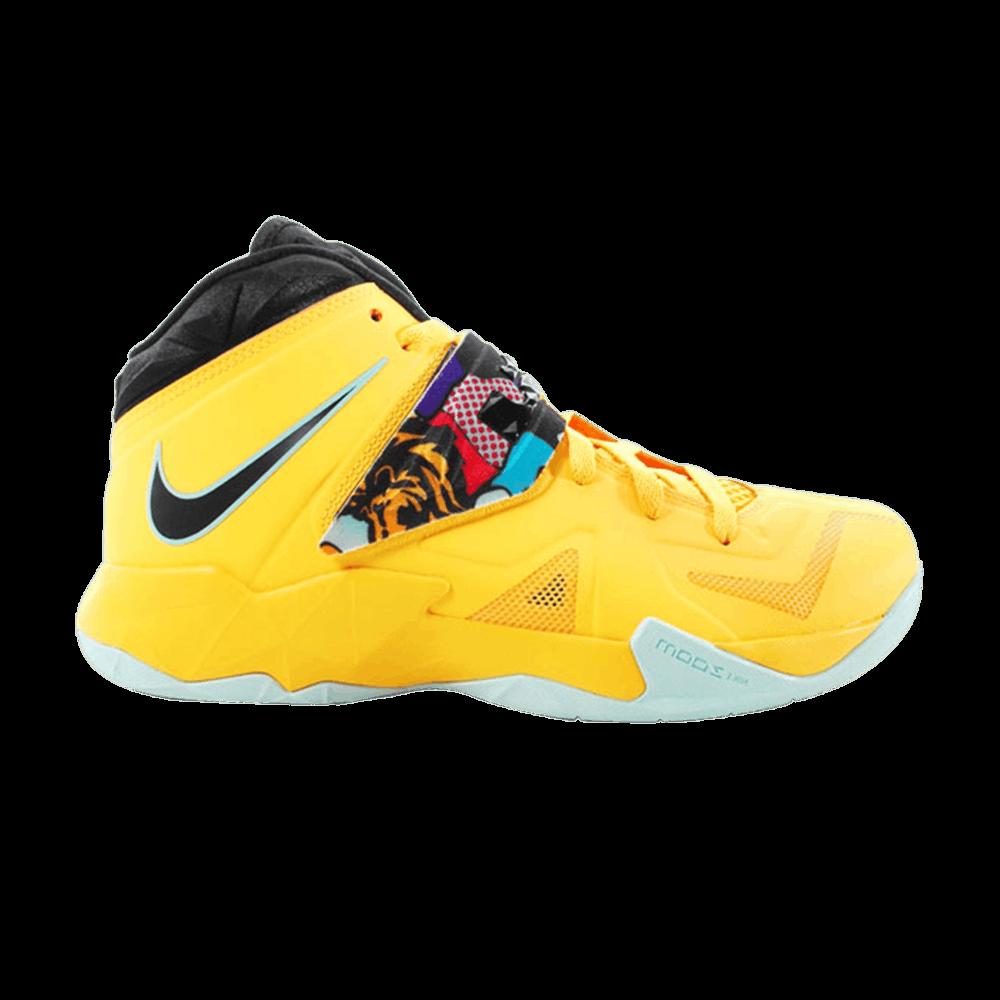 quality design a32bb 851d4 LeBron Soldier 7 'Pop Art' - Nike - 599264 800 | GOAT