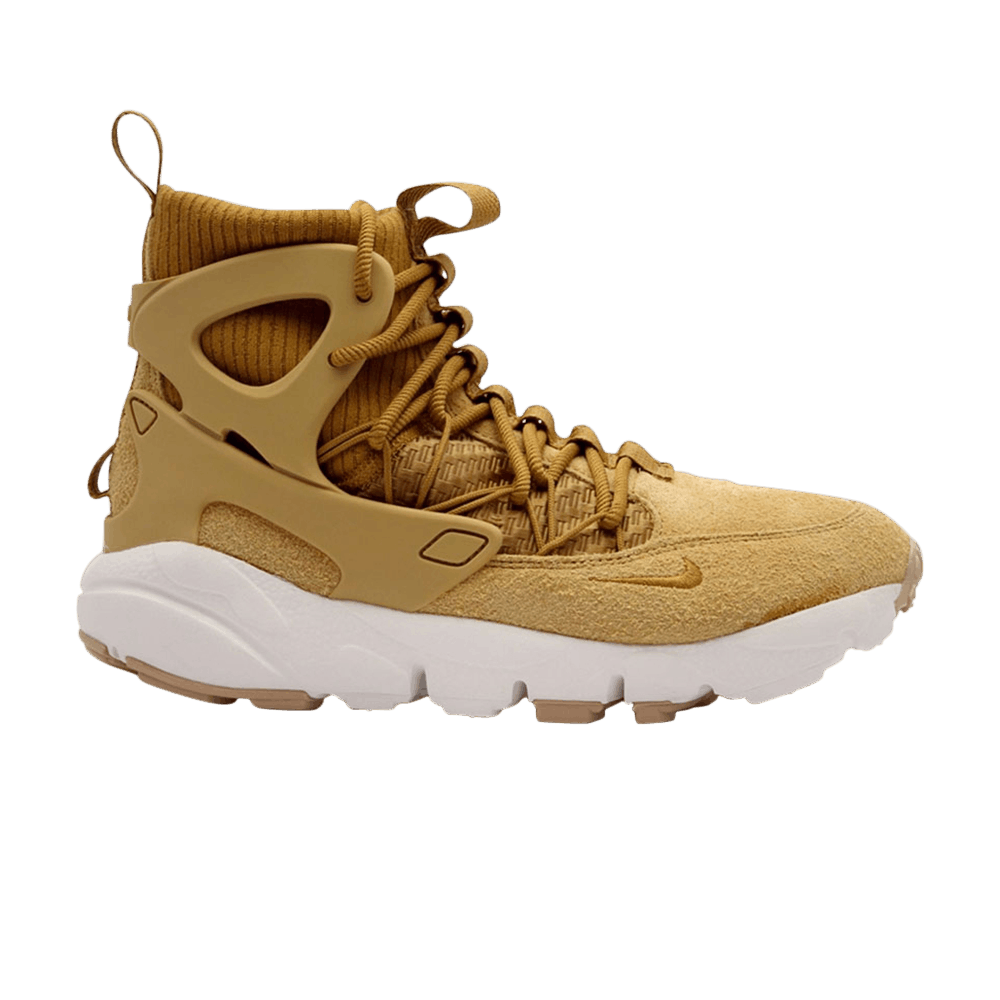 on sale 2ff30 be9f0 Wmns Air Footscape Mid Utility  Wheat  - Nike - AA0519 700   GOAT