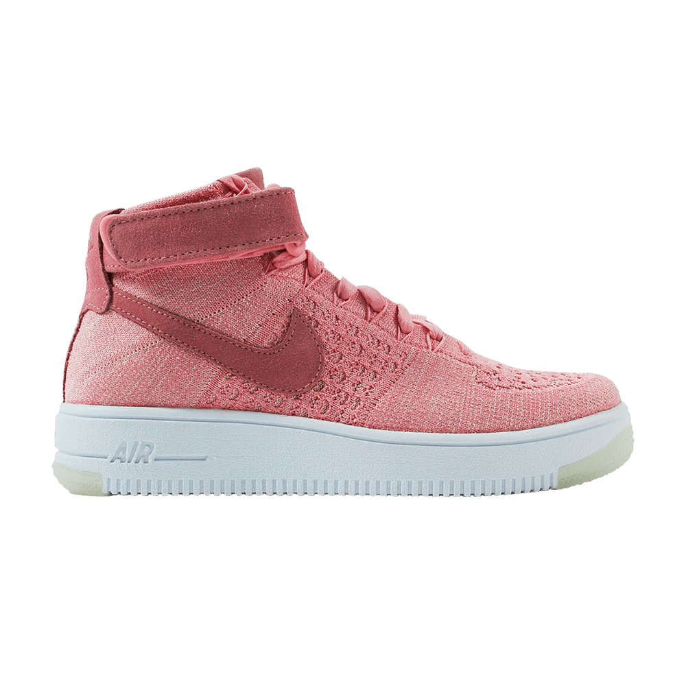 Wmns Air Force 1 Flyknit 'Bright Melon' Nike 818018 802
