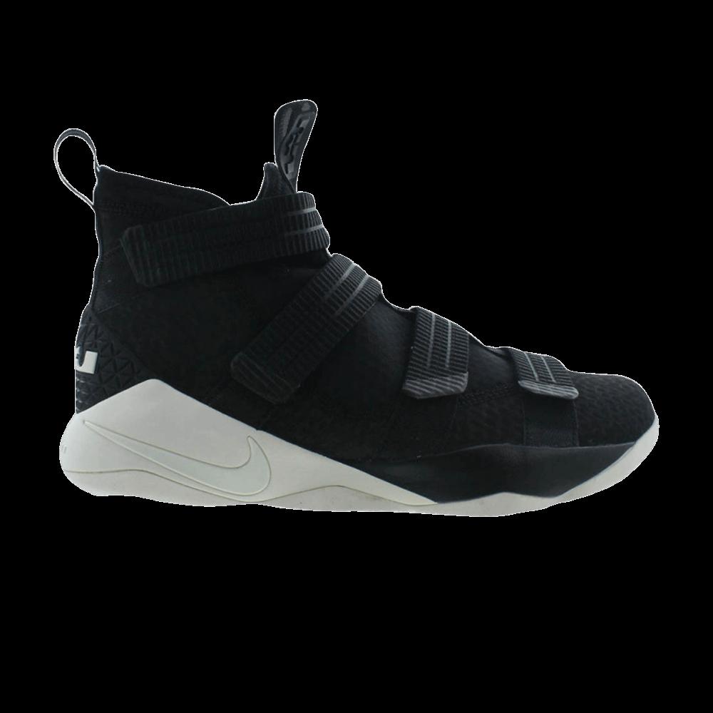 innovative design c70a5 48eaa LeBron Soldier 11  Black Sail  - Nike - 897646 004   GOAT