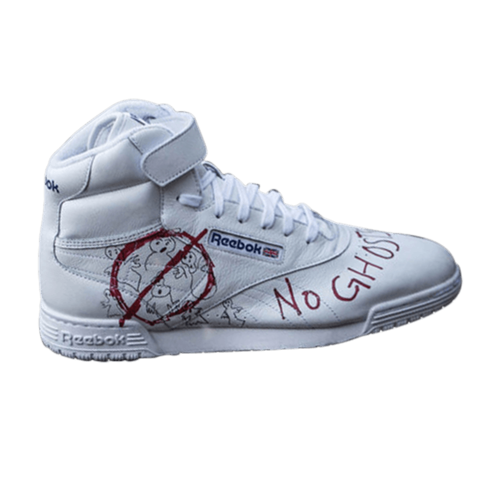 new style a32ac 38613 Bait x Stranger Things x Ghostbusters x Ex-O-Fit Clean Hi  White  - Reebok  - CN3570   GOAT