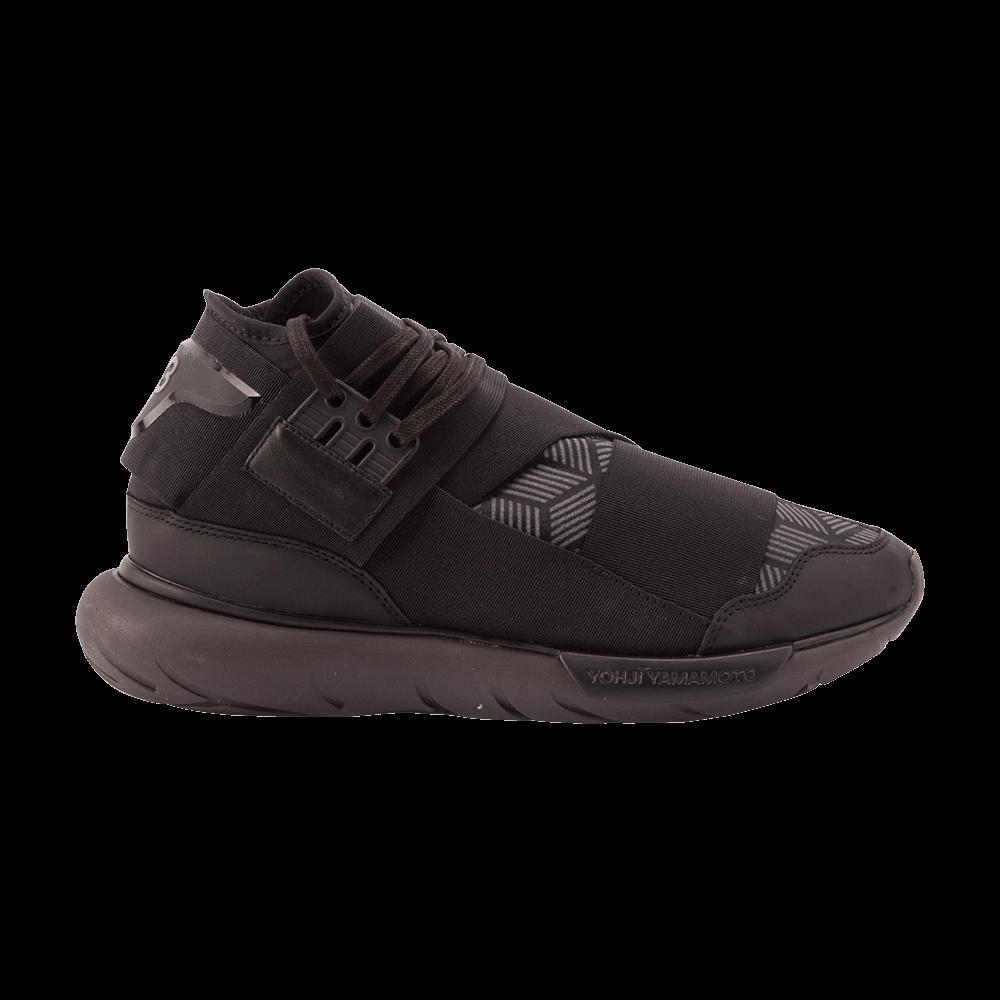a178b1fb14a0 Y-3 Qasa High  Triple Black  - adidas - S82123