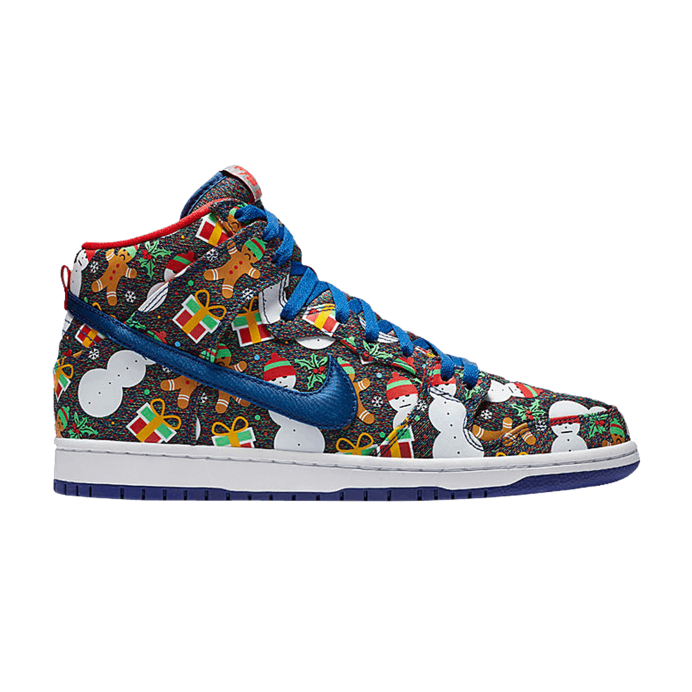 Concepts x Dunk High SB Premium \'Ugly Christmas Sweater\' - Nike ...