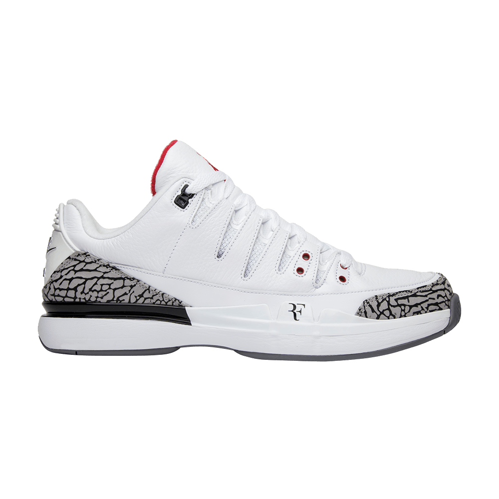 78971a90 Zoom Vapor Tour AJ3 'White Cement' - Nike - 709998 160 | GOAT