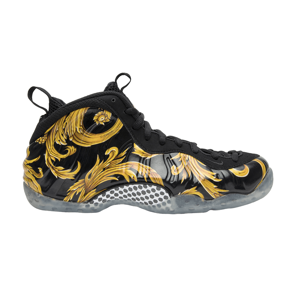 Supreme x Air Foamposite One SP \u0027Black\u0027