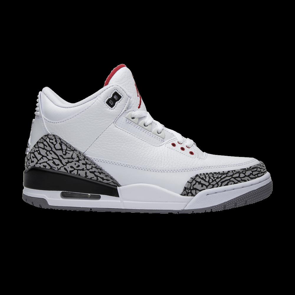 c3300ca06b50 Air Jordan 3 Retro  White Cement  2011 - Air Jordan - 136064 105