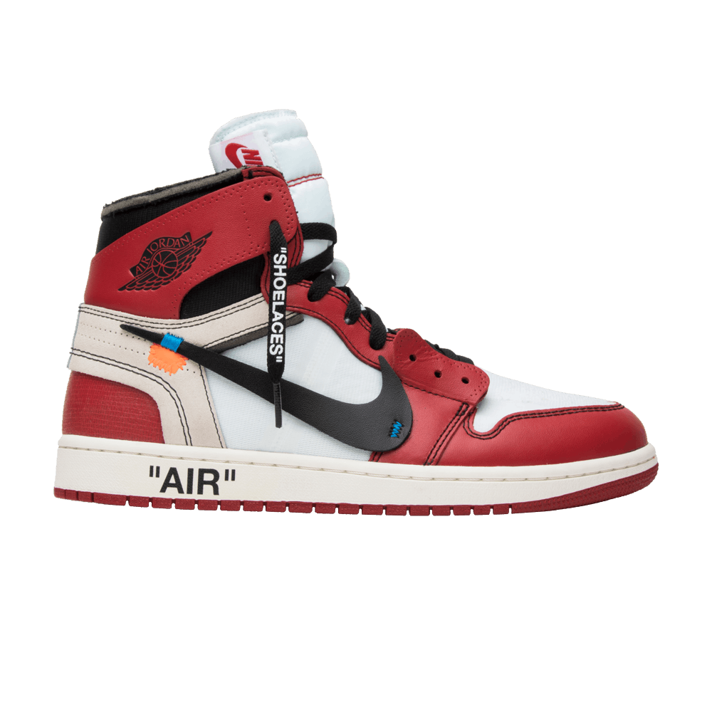 OFF-WHITE x Air Jordan 1 Retro High OG - Air Jordan - AA3834 101  7e20b61ef
