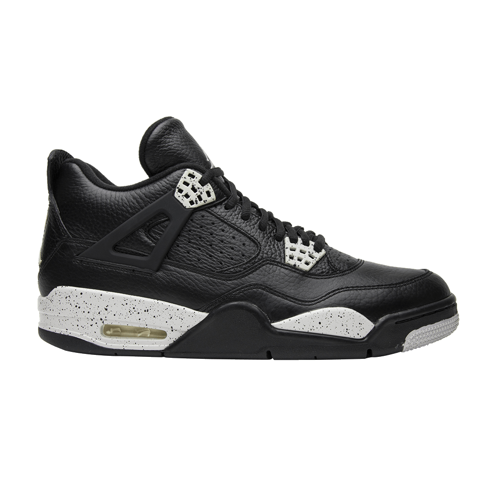 uk availability 0b131 a8b99 Air Jordan 4 Retro LS  Oreo  2015 - Air Jordan - 314254 003   GOAT