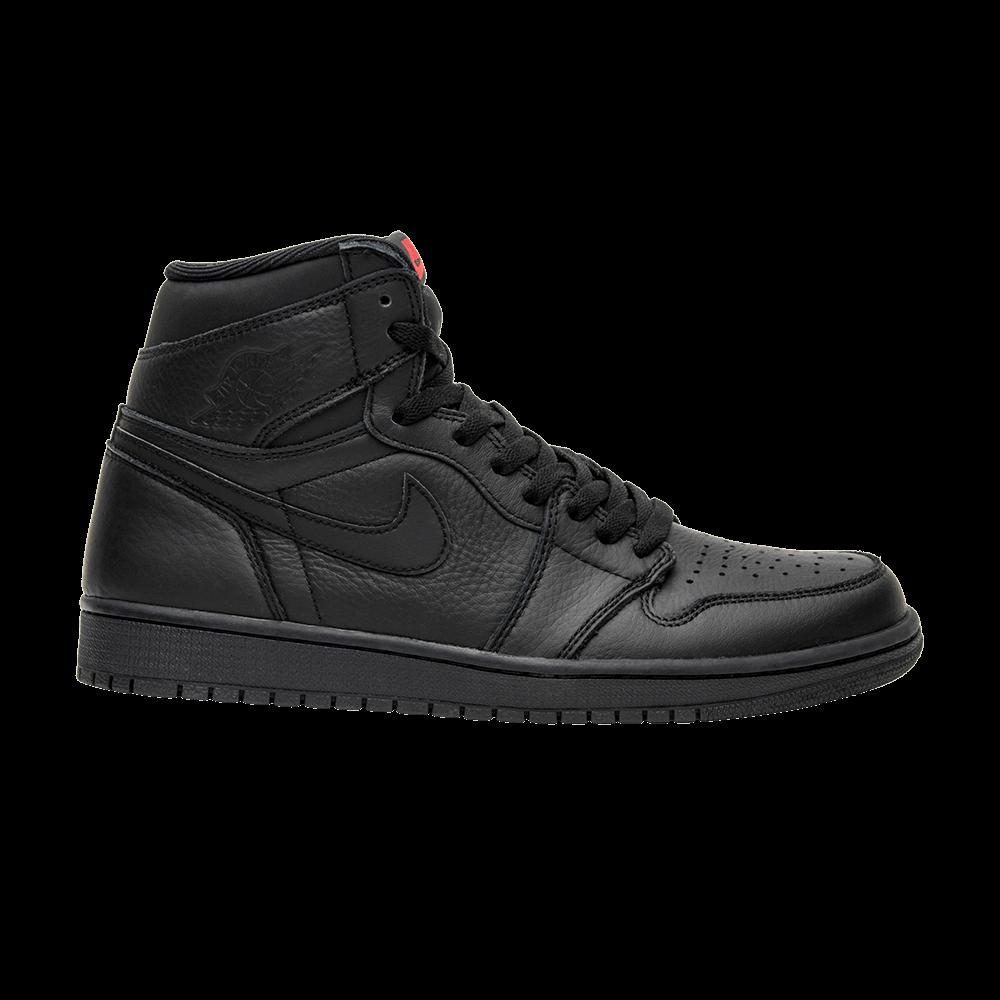 44972392f2c22 Air Jordan 1 Retro High OG  Triple Black  - Air Jordan - 555088 022 ...