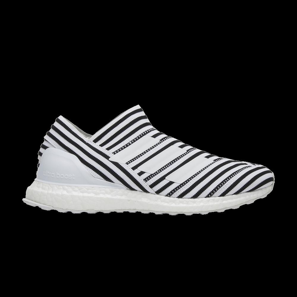 3a1c7feabe90 Nemeziz Tango 17+ 360 Agility UltraBoost 'Footwear White Black' - adidas -  CG3656 | GOAT