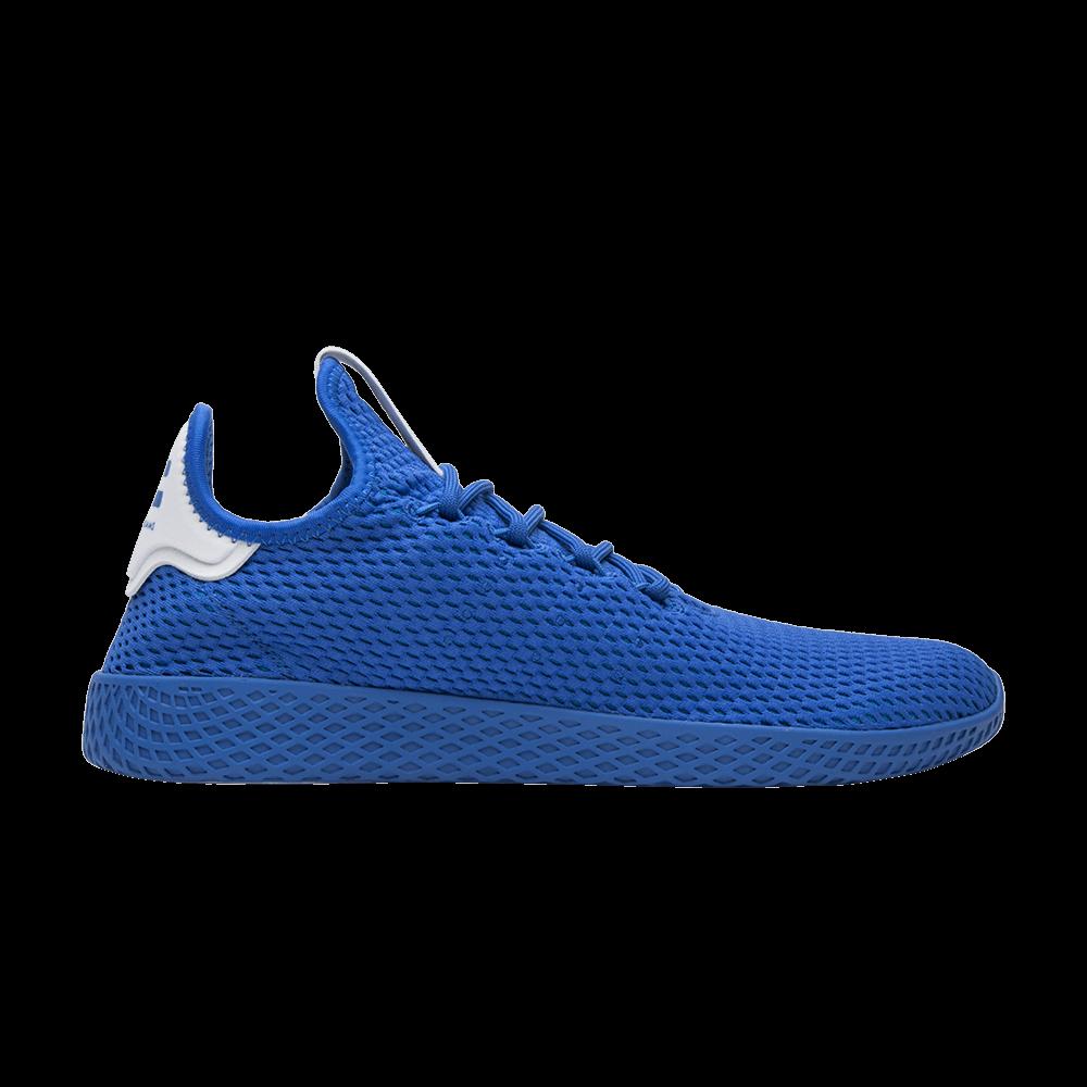 buy popular d1b1e e77dc Pharrell x Tennis Hu 'Solid Blue' - adidas - CP9766   GOAT