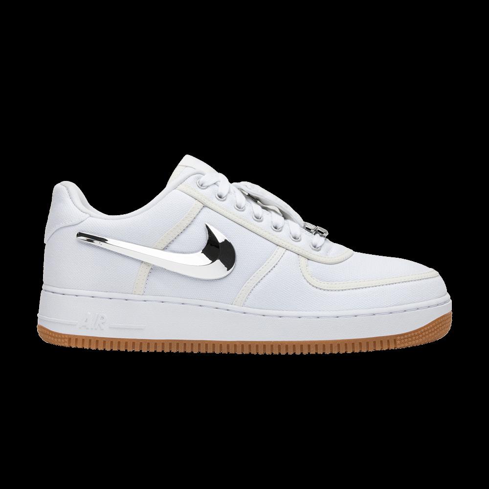 buy online c4ec7 305bf Travis Scott x Air Force 1  Travis Scott  - Nike - AQ4211 100   GOAT