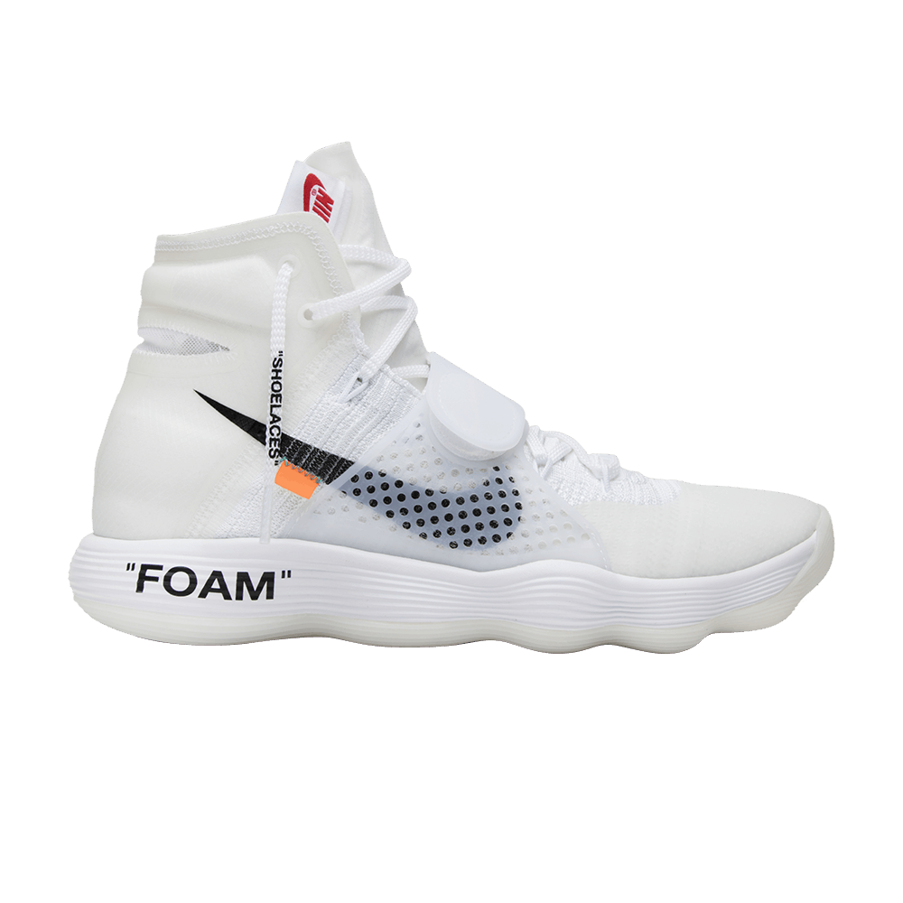 716ce72a15c8 OFF-WHITE x Hyperdunk 2017 Flyknit  The Ten  - Nike - AJ4578 100
