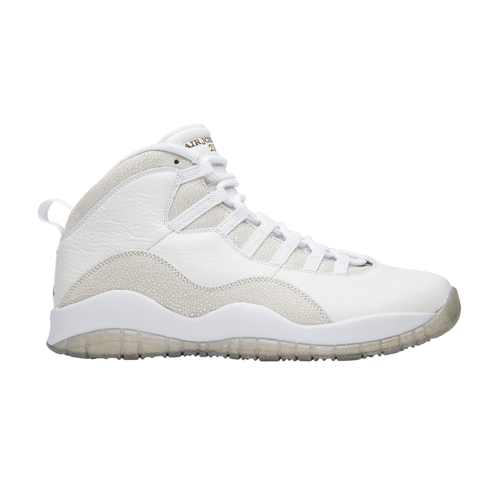 0ccc728e1e68ab OVO x Air Jordan 10 Retro  White  - Air Jordan - 819955 100