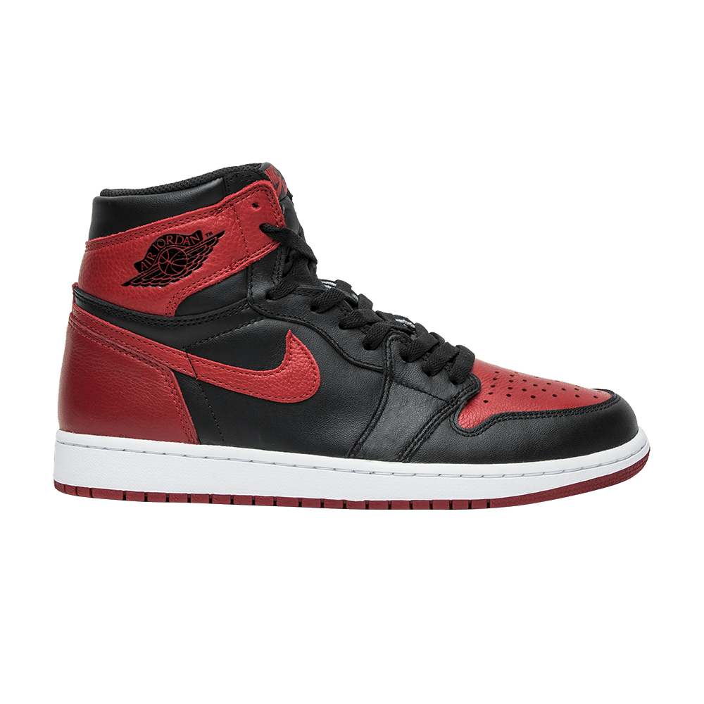 the latest 1c1f3 cf29c Air Jordan 1 Retro High OG  Banned  2016 - Air Jordan - 555088 001   GOAT