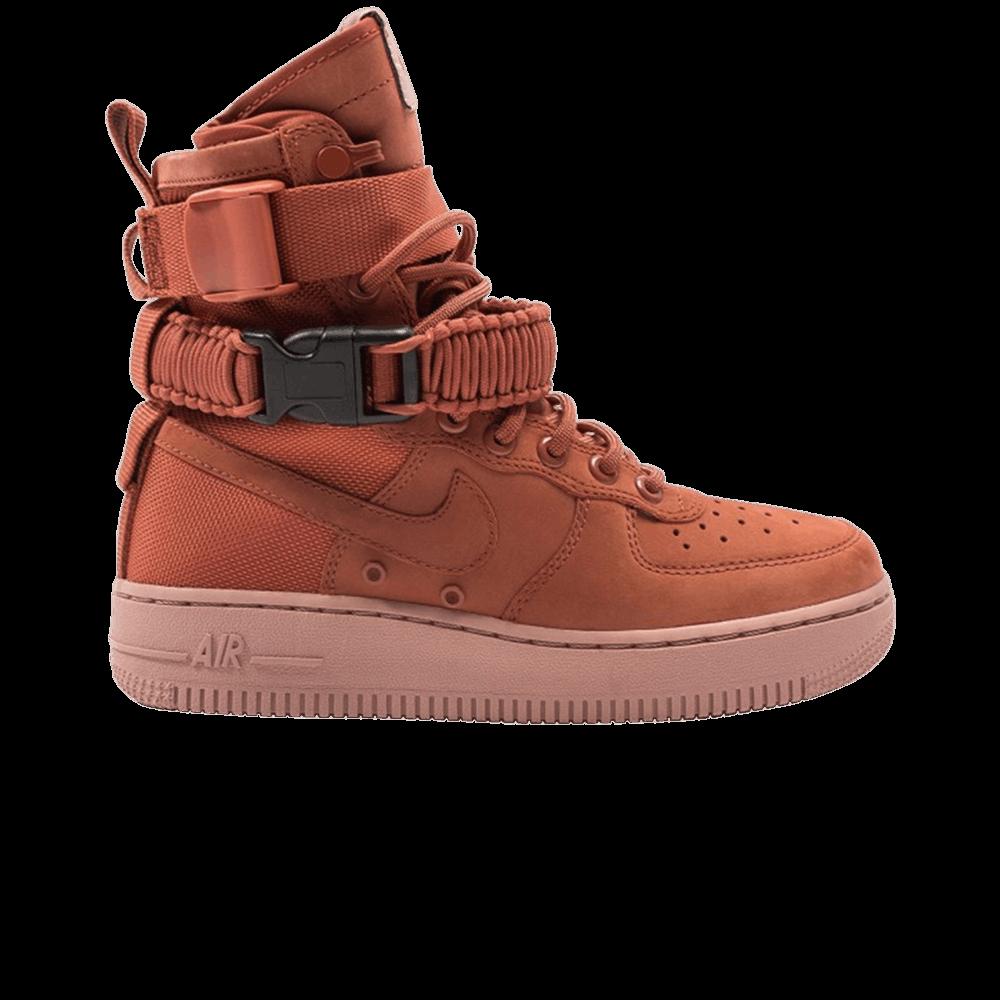 eaf1c59ff0ec Wmns SF Air Force 1 High  Dusty Peach  - Nike - 857872 202