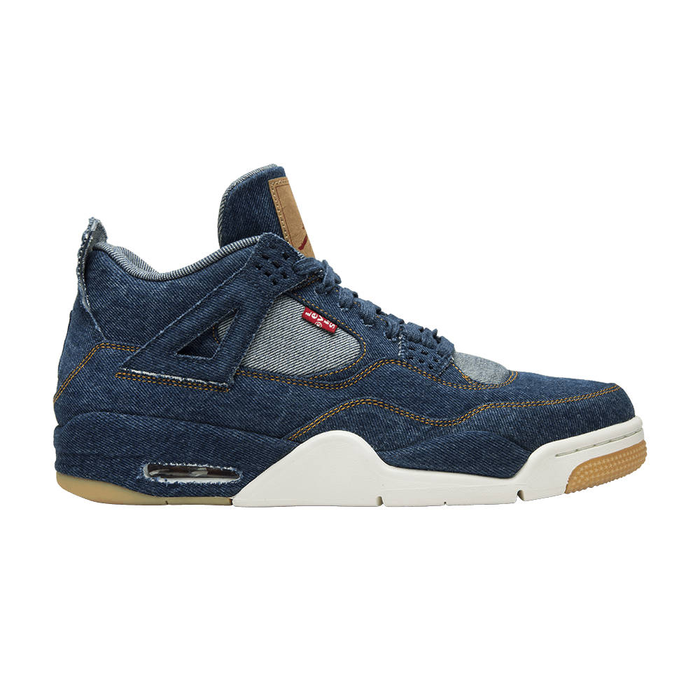 finest selection 7f791 a267b Levi s x Air Jordan 4 Retro  Denim  - Air Jordan - AO2571 401   GOAT