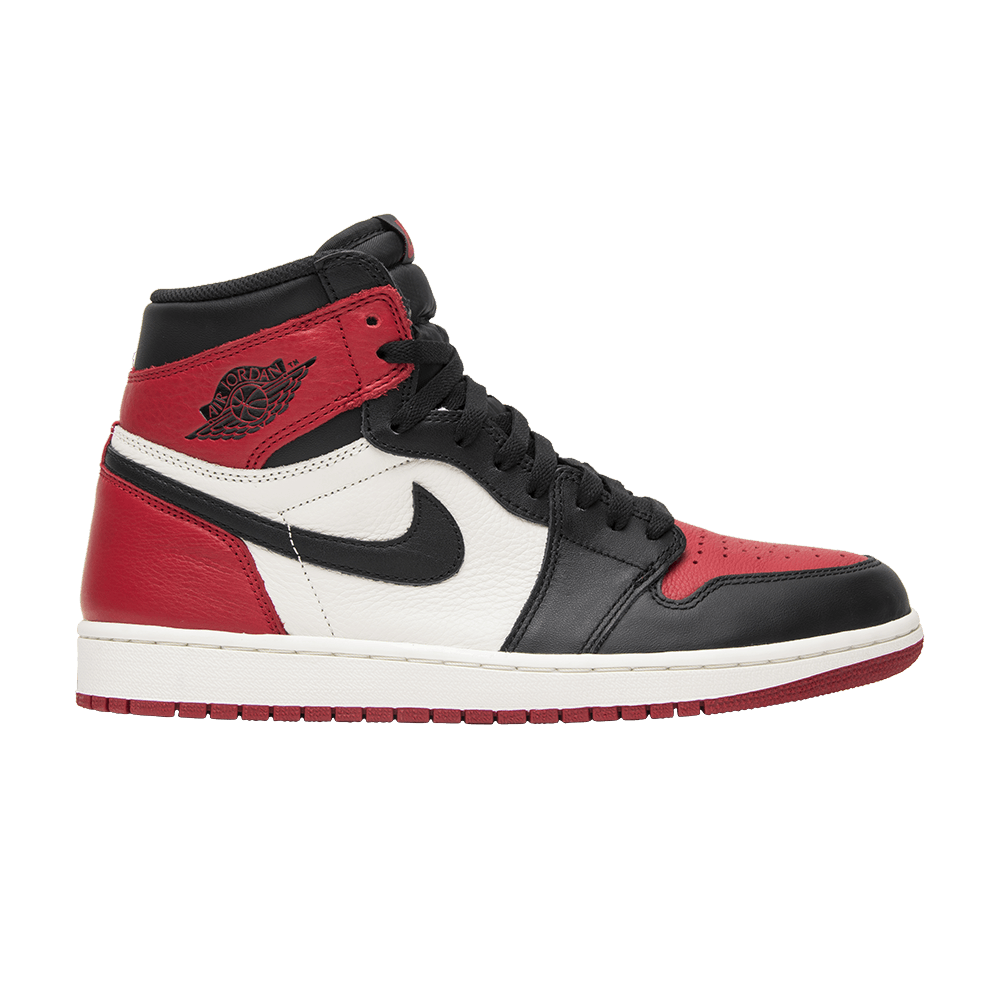 sale retailer 45d3c d09a7 Air Jordan 1 Retro High OG  Bred Toe  - Air Jordan - 555088 610   GOAT